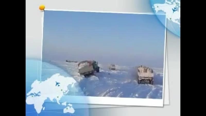 Зимник 2010 годаЛабытнанги - Бованенково