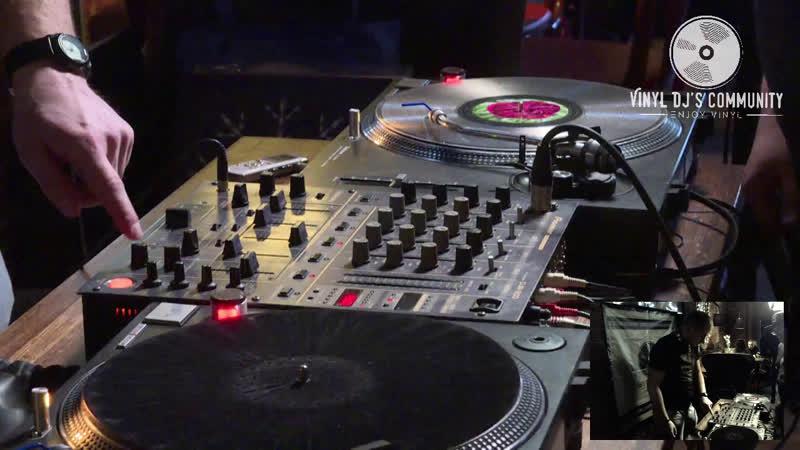 DJ YURA ONEGIN BAR CHULAN VINYL LIVE MIX 10.03.2019