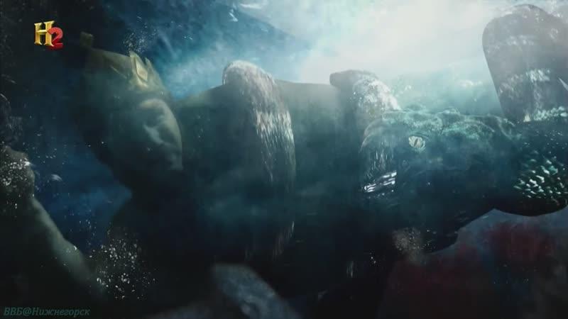 History «Битвы богов (08). Беовульф» (Документальный, мифы, история, эпос, 2009)
