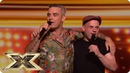 Andy's loving Robbie instead   Auditions Week 1   The X Factor UK 2018