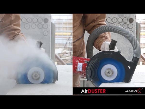 Тизер. Аэродинамический кожух AirDUSTER. Пылеудаление для ВАШЕЙ углошлифовальной машины.