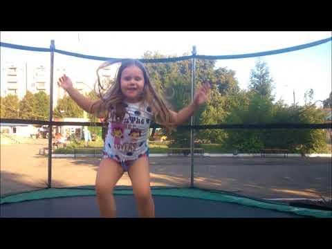 Батутное лето в Красном Луче * Summer trampolines Krasnyi Luch