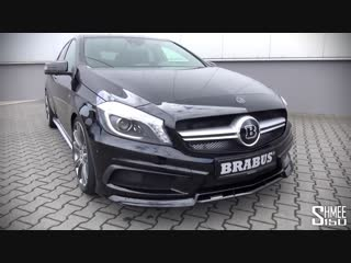 Brabus Mercedes A45 AMG - Introduction and Revs