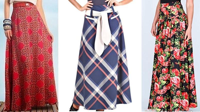 Как скроить юбку трапецию/Как скроить юбку клеш/Выкройка-основа юбки
