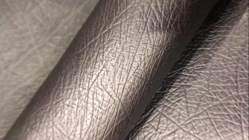 Кожа КРС, с фактурой под кожу слона, цвет: чёрный