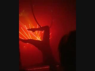 Ночное освещение в стриптиз клубе
