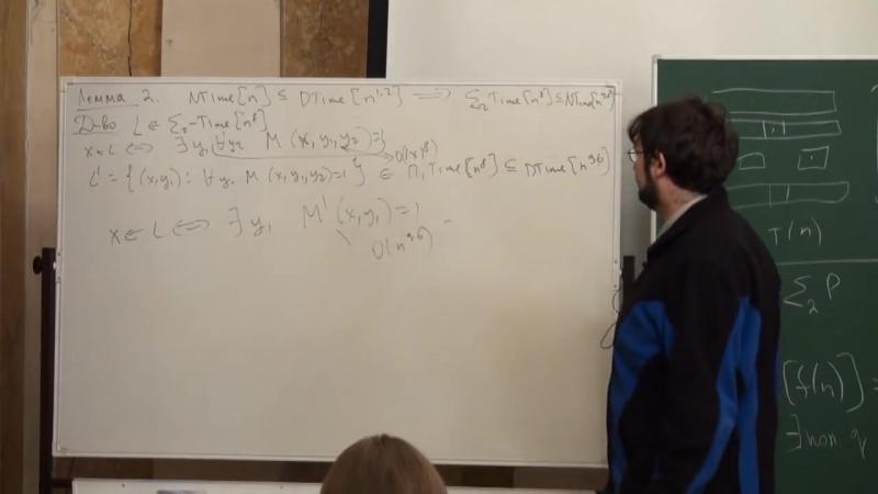 Лекция 11 - Основы вычислимости и теории сложности - Дмитрий Ицыксон - CSC - Лекториум