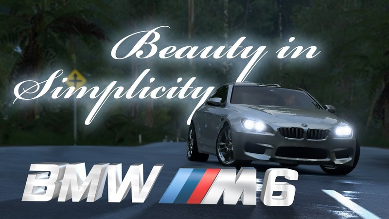 BMW M6 BEAUTY IN SIMPLICITY - FORZA HORIZON 3 (CINEMATIC)