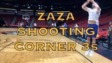 Does Zaza Pachulia's corner 3 get blocked by Sammy Gelfand From practice in New Orleans before G4