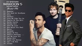 Maroon 5, Ed Sheeran, Taylor Swift, Adele, Sam Smith, Shawn Mendes Best English Songs 2019
