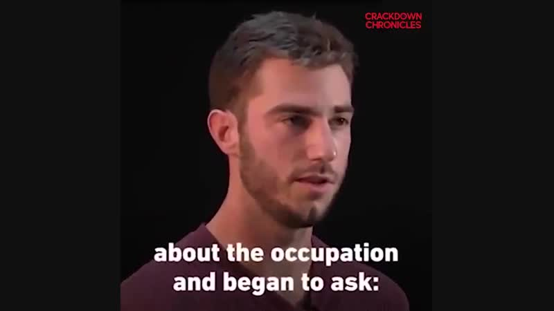 Saying NO to IDF service needs a kind of bravery that this young man had
