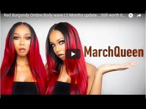2 Months Update Is It Still Worth It ft MarchQueen Ombre Burgundy Hair
