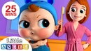 No No, Baby Wants The Big Boy Brush | Nursery Rhymes by Little Angel