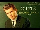Schubert Emil Gilels, 1960 Sonata in D Op. 53 - RCA LM-2493