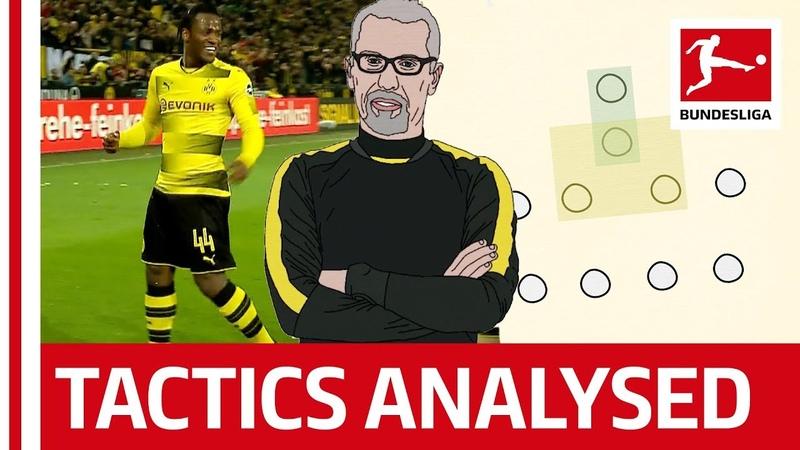 Dortmund Tactics Stögers Keys to Success - Powered by Tifo Football