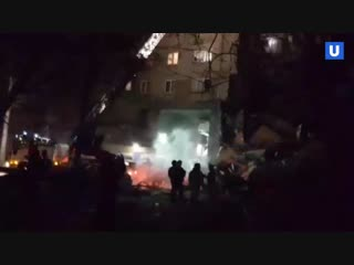 Обрушение многоэтажки в Магнитогорске из-за взрыва газа,