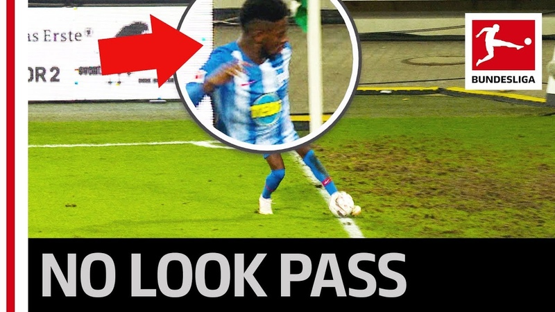 The Cheekiest Assist So Far - The Perfect No-Look Pass