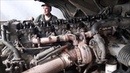 Scania R420 HPI praca silnika (engine sound)