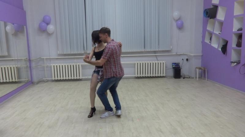 Капустник 21.04.18 Танец Андрея и Кати