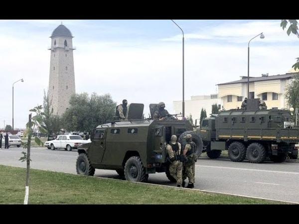 Развал России начался Кадыров пригрозил войной Ингушетии...