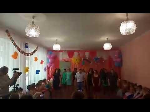 Поздравление от родителей на выпускной в детском саду Песня - переделка Грибы тает Лед В школу идем