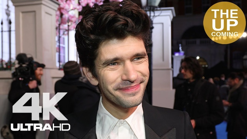 Ben Whishaw at Mary Poppins Returns premiere in London