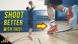 How to Shoot a Basketball Better For Beginners! The Hop versus The 1-2 Gather Shooting Footwork