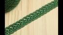 Вязание крючком ленточного кружева на основе шнура из пышных столбиков Crochet