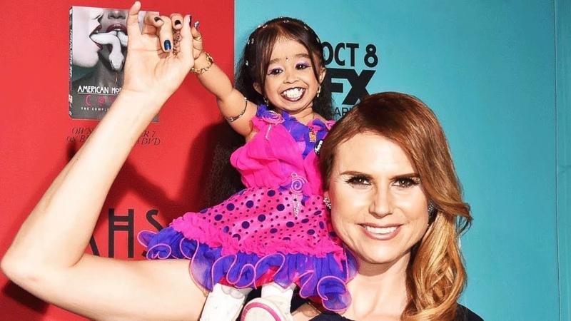 Самая маленькая женщина в мире попала в Книгу Рекордов Гиннеса