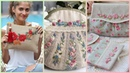 Purse Embroidery/Embroidered Purse/Hand Embroidery Designs/Embroidered Clutch