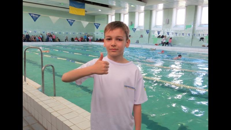 Всеукраинский турнир по плаванию ЮНА ЕНЕРГЕТИЧНА ХВИЛЯ Вольный стиль 100м