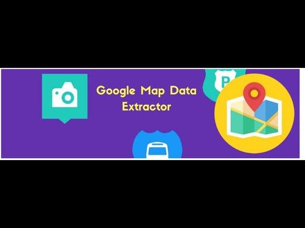 Google Map Data Extractor 2018