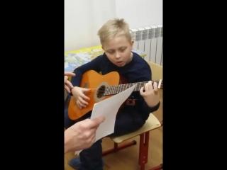 Обучение игре на гитаре, рабочие моменты