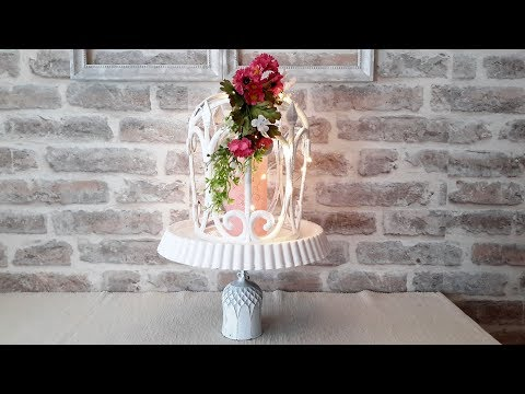 КАК СДЕЛАТЬ ДЕКОРАТИВНУЮ КЛЕТКУ... HOW TO MAKE A DECORATIVE CELL