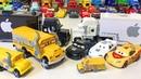Тачки Новые Игрушки Распаковка Мисс Крошка Трейлеры Грузовики Мультики про Машинки Видео для Детей