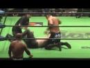 Akitoshi Saito Masao Inoue vs Maybach Taniguchi Mitsuya Nagai NOAH Global Tag League 2018 Day 5