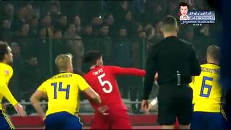ไฮไลท์เต็ม ตุรกี vs สวีเดน