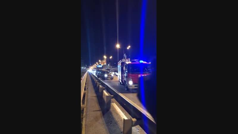 Авария в Адлере на объездной в сторону Псоу