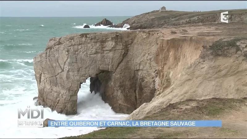 Le GR34, la Bretagne sauvage entre Quiberon et Carnac