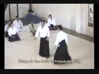 Aikido Journal - Morihiro Saito What you can do to make Koshinage and Kotegaes