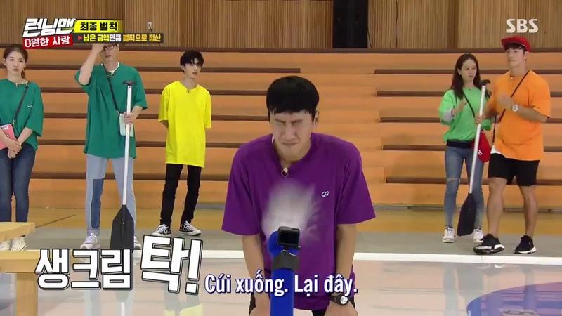 Double Chịu Phạt của Lee Kwang Soo =)) Running Man ep 417 cut