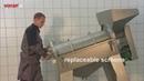 Косточко отделительная / протирочная машина EP1000 с элеватором SA