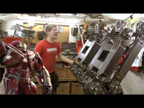 Making the Hulkbuster Part 1 Legs Huge Hydraulic Legs