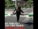 Women protest dancing against headscarf imposition in Iran