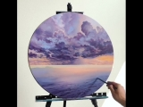 This landscape painting by Feliks K is breathtaking