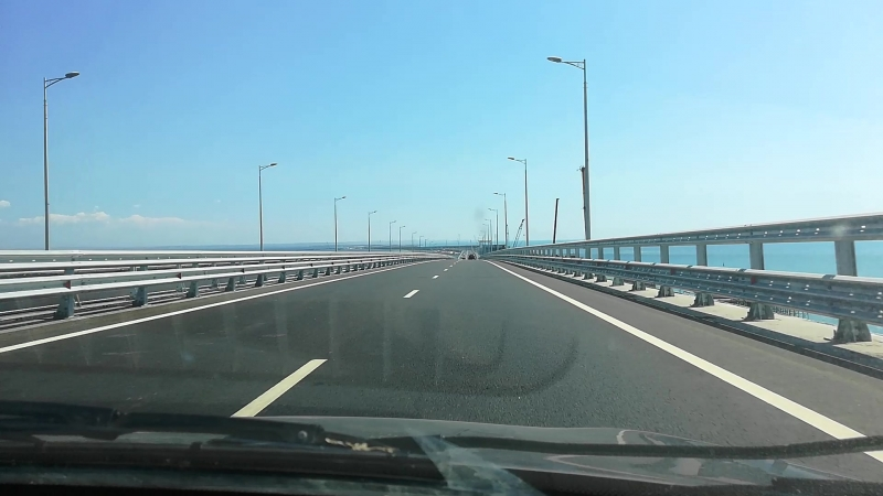 вот и прокатились по мосту за 228,3 млрд рубликов😅