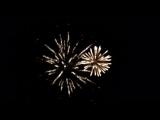 Салют на день победы. праздничный фейерверк на 9 мая.