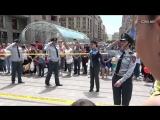 CivilNet.TV - Ոստիկանների պարը՝ երեխաների տոնին