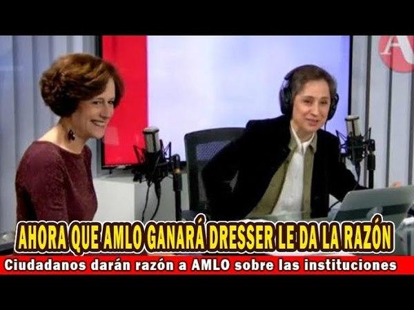 Denise Dresser: ciudadanos darán la razón a AMLO; Al diablo las.... priinstituciones