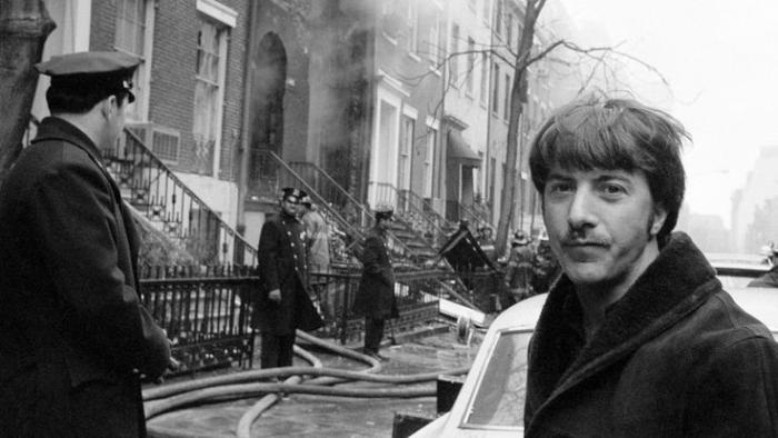 Дастин Хоффман, сосед террористов, Нью–Йорк, 6 марта 1970 года.